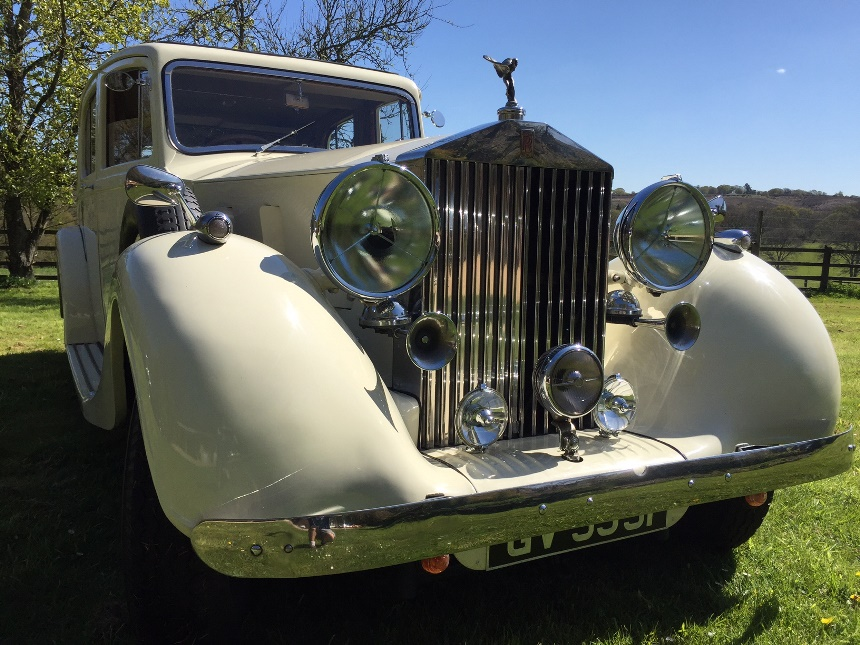 Rolls Royce Starting Price >> Classic Rolls Royce | Rolls Royce Phantom Wedding Car In Thames Ditton
