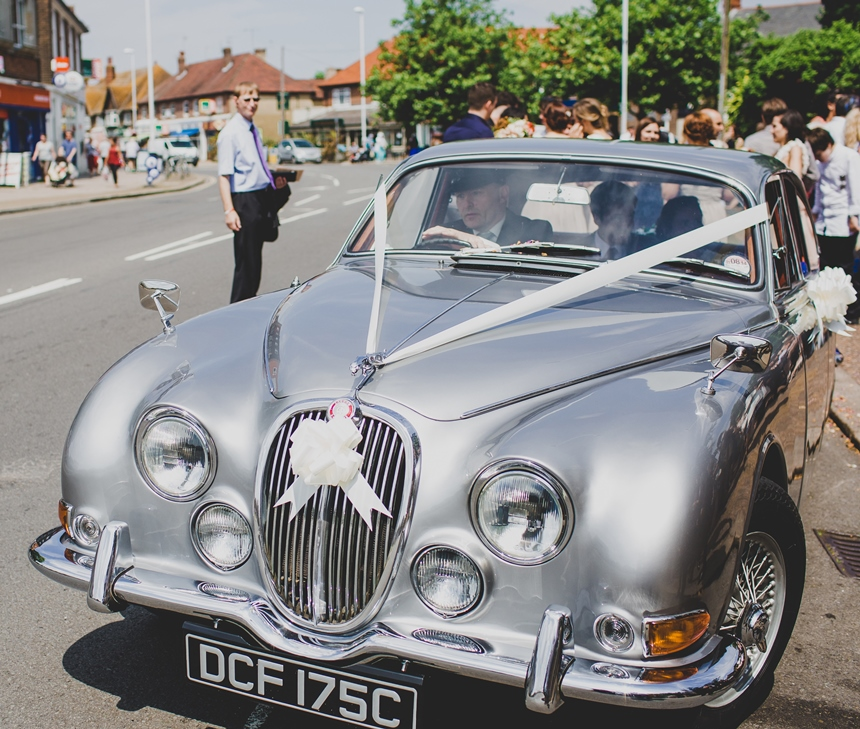 Jaguar Rental Car: Classic Jaguar For Weddings In Worthing