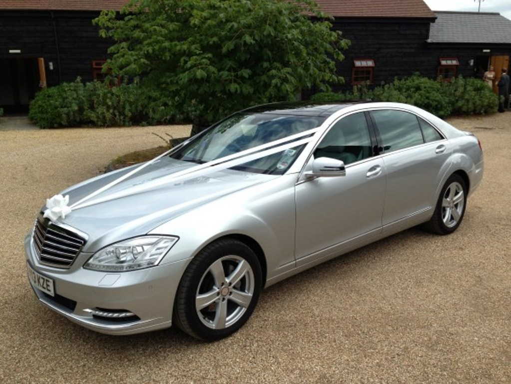 mercedes s class wedding car wedding car hire guildford