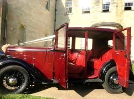 Vintage wedding car hire in Luton