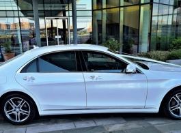 Luxury Mercedes wedding car in London