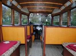 Vintage 1937 Bedford Bs for wedding hire in Southsea