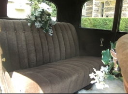 American 1920s vintage car for weddings in London