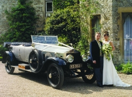 Vintage Rolls Royce for wedding hire in Rochester, Kent