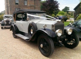 1923 Vintage Rolls Royce for wedding hire in Biddenden