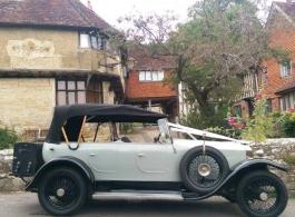 Rolls Royce Tourer for weddings in Dover