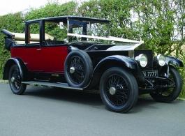 Vintage Rolls Royce wedding car hire in Gravesend