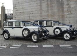 Vintage wedding car hire in Southsea