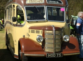 1949 Vintage wedding Bus for hire in Southampton