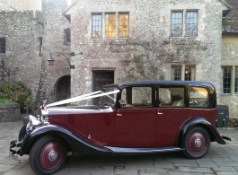 1935 Vintage Rolls Royce for wedding hire in Biddenden