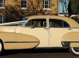 Vintage American Cadillac for weddings in London