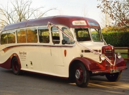 bus hampshire Vintage hire