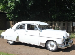 Classic 1950 Chevrolet for weddings in London