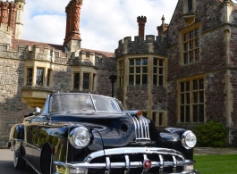 American wedding car for hire in Bournemouth