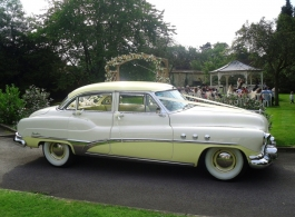 Classic American Buick for wedding hire in Chelmsford