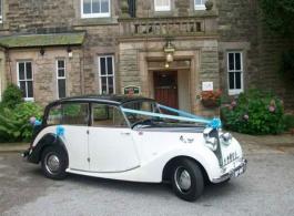 Classic Wedding Car Hire Derbyshire