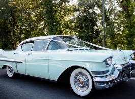 1950s American car for weddings in Ascot