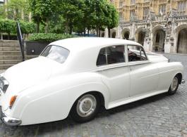 1957 Rolls Royce for weddings in Morden