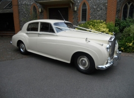 1950 Rolls Royce Cloud wedding car in Sutton