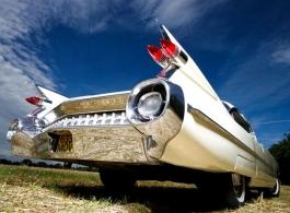 1959 Cadillac wedding car in Walton on Thames