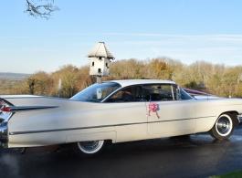 Cadillac for wedding hire in Bristol