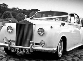 Rolls Royce Silver Cloud for weddings in Maidstone