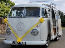 Splitscreen Campervan for weddings in Brighton