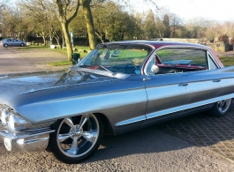 1960s Cadillac for weddings in Bristol