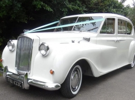Classic Austin Princess for weddings in Rochester