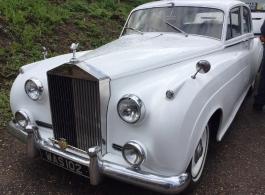 Rolls Royce Silver Cloud for weddings in London