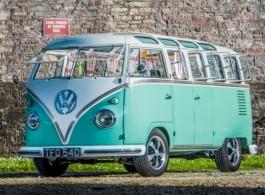 1961 Splitscreen Campervan for weddings in Torquay