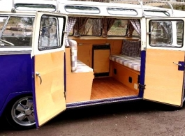 VW Campervan for wedding hire in Reading