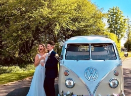 Splitscreen Campervan for weddings in Braintree