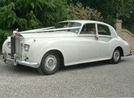 1962 Rolls Royce for weddings in Braintree