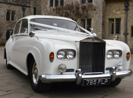Classic 1963 Rolls Royce for weddings in Sevenoaks