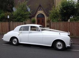 Classic 1963 Rolls Royce for weddings in Sevenoaks
