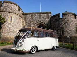 VW Campervan for weddings in Lewes