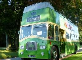 1964 Open Top bus for wedding hire in Brighton