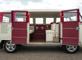 1965 Splitscreen Campervan for weddings in Lewes