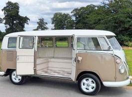 VW Splitscreen Campervan for weddings in Buckingham