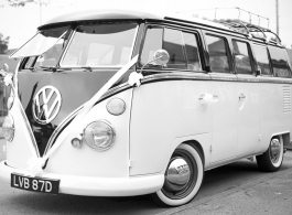 1966 Splitscreen Campervan for weddings in Wellingborough