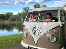 VW Campervan for weddings in Milton Keynes