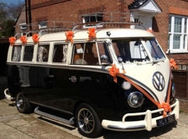 Campervan for weddings in Hampshire