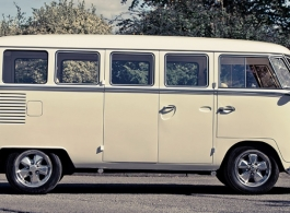 1960s VW Campervan for wedding hire in Brighton