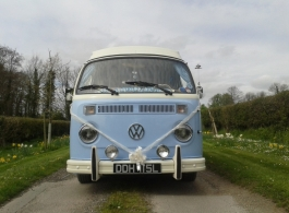 W Campervan for weddings in Wokingham