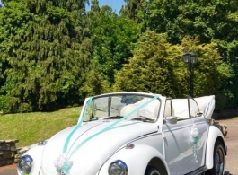 1971 VW Beetle for weddings in Chelmsford