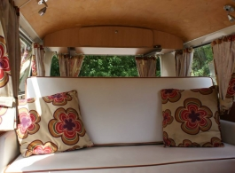 1972 Bay Window Campervan for weddings in Chichester