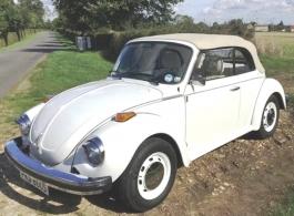 VW Beetle for weddings in Windsor