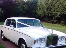 Rolls Royce Silver Shadow for weddings in Basildon
