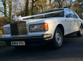 1980s Rolls Royce wedding car hire in Windsor